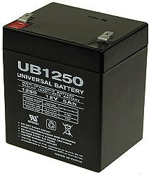 12 Volt 5 Ah Electric Scooter Battery