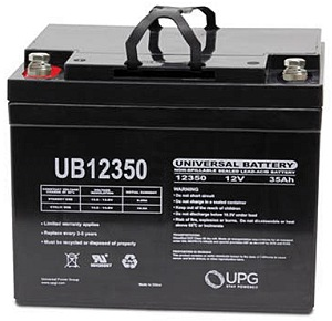 12 Volt 35 Ah Electric Scooter Battery