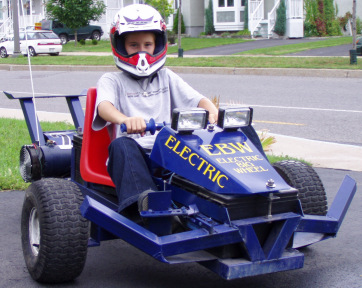 Custom-Built Electric Scooter, Bicycle, 3-Wheeler, and Go-Kart