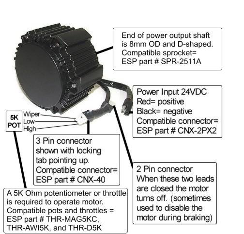 Kollmorgan Motor Wiring Guide And Parts Compatibility