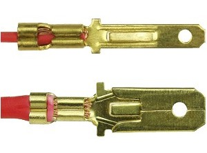 For Crimping 2 8mm Through 6 3mm Wide Non Insulated Terminals For Use With  Gauge Wire