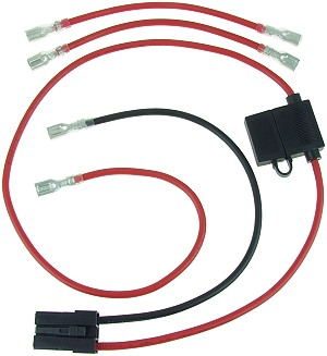 EVO 1000 Electric Scooter Parts - ElectricScooterParts.com  Wire Harness Battery on