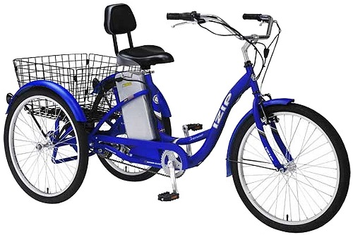 Izip Tricruiser 3 Wheel Electric Tricycle