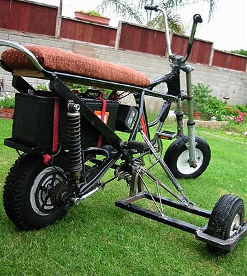 Custom-Built Electric Scooter, Bicycle, 3-Wheeler, and Go