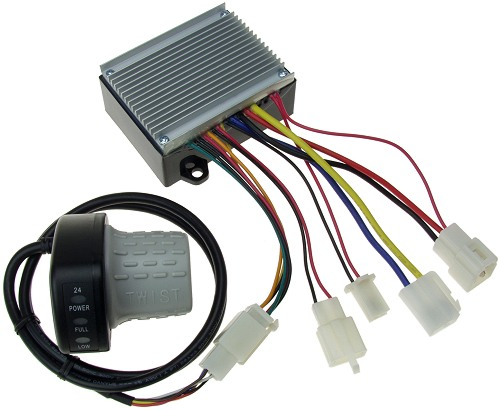 throttle and speed control module replacement kit for version 1 and up of the razor dirt quad electric allterrain vehicle