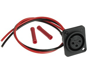 xlr battery charger connectors - electricscooterparts.com  electric scooter parts