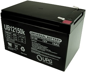 FirstPower FP1240 12V 4AH Replaces Gell Cell 12V 4.5AH Battery