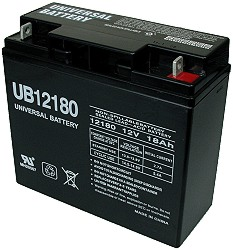 12 Volt 18ah Electric Scooter Battery