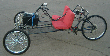 Custom Built Electric Scooter Bicycle 3 Wheeler And Go Kart