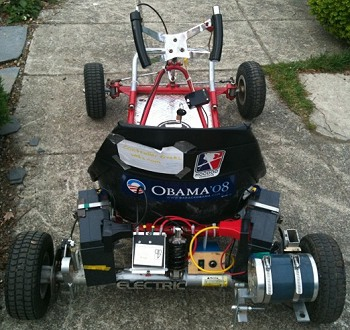I Converted This Go Kart From Gas Motor To Electric