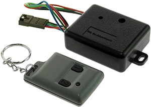 fits the ev warrior electric bicycle  key fob and receiver have matching  codes and need to be replaced at the same time