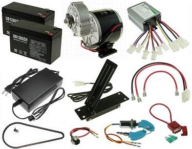 Electric Go Kart Power Kits