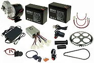 Electric Scooter Power Kits and Electric Bicycle Conversion