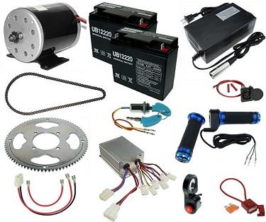 24 Volt Electric Bar Stool Racer Kits