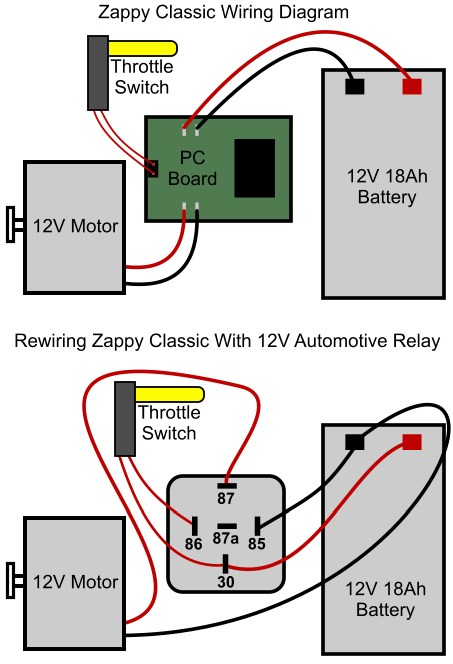 zappy-clic-diagram  Pin Flasher Wiring Diagram on