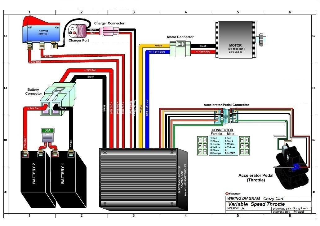 Razor Crazy Cart Wiring Diagram V Up on Electric Motorcycle Wiring Diagram