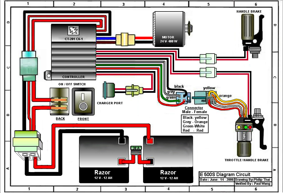 Rascal Scooter Wiring Diagram Trusted Wiring Diagram