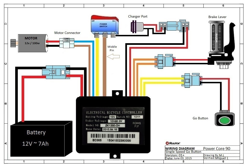 Razor Mx350 Wiring Diagram on chevy s10 cluster wiring diagram