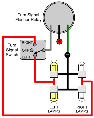 3 Wire Turn Signal Switch Diagram - Wiring Diagram Networks